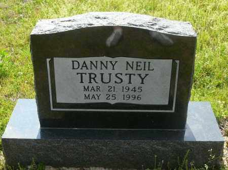 TRUSTY, DANNY - Logan County, Arkansas | DANNY TRUSTY - Arkansas Gravestone Photos