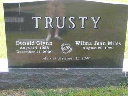 TRUSTY, DONALD - Logan County, Arkansas | DONALD TRUSTY - Arkansas Gravestone Photos