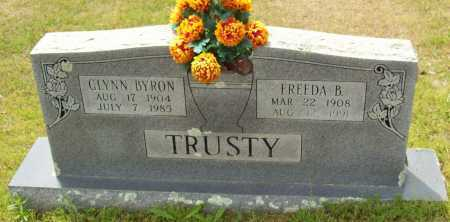 TRUSTY, GLYNN BYRON - Logan County, Arkansas | GLYNN BYRON TRUSTY - Arkansas Gravestone Photos