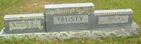 TRUSTY, ANNA M. - Logan County, Arkansas | ANNA M. TRUSTY - Arkansas Gravestone Photos