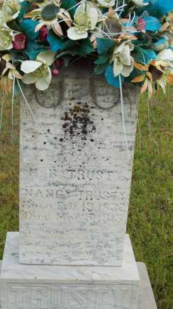 TRUSTY, H.B. - Logan County, Arkansas | H.B. TRUSTY - Arkansas Gravestone Photos