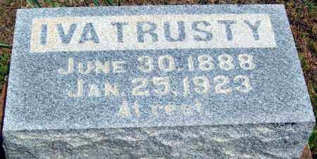 TRUSTY, IVA - Logan County, Arkansas | IVA TRUSTY - Arkansas Gravestone Photos