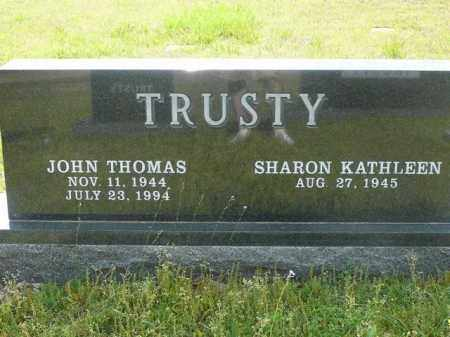 TRUSTY, JOHN - Logan County, Arkansas | JOHN TRUSTY - Arkansas Gravestone Photos