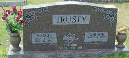 TRUSTY, MARGIE - Logan County, Arkansas | MARGIE TRUSTY - Arkansas Gravestone Photos