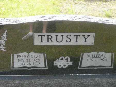 TRUSTY, PERRY - Logan County, Arkansas | PERRY TRUSTY - Arkansas Gravestone Photos