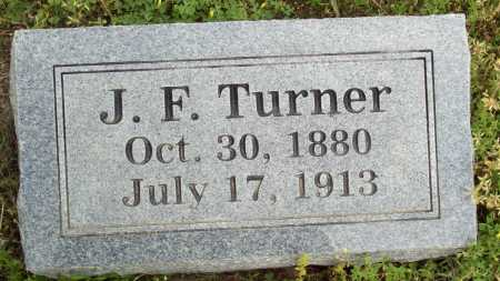 TURNER, J.F. - Logan County, Arkansas | J.F. TURNER - Arkansas Gravestone Photos