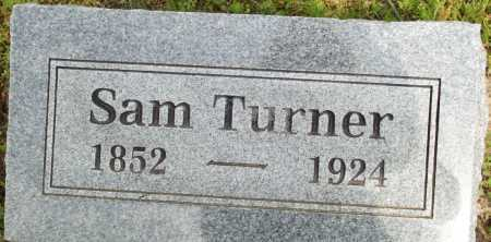 TURNER, SAM - Logan County, Arkansas | SAM TURNER - Arkansas Gravestone Photos