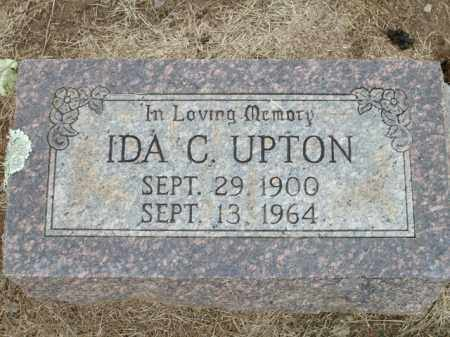 UPTON, IDA C. - Logan County, Arkansas | IDA C. UPTON - Arkansas Gravestone Photos