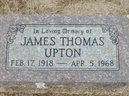 UPTON, JAMES THOMAS - Logan County, Arkansas | JAMES THOMAS UPTON - Arkansas Gravestone Photos