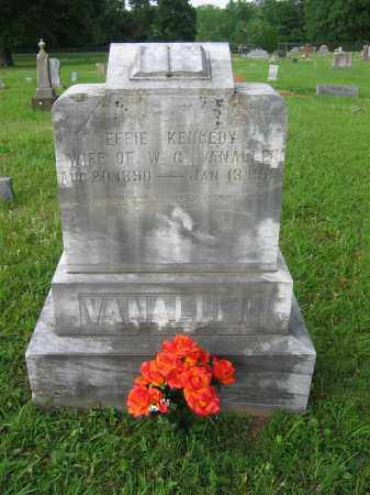 VAN ALLEN, EFFIE - Logan County, Arkansas | EFFIE VAN ALLEN - Arkansas Gravestone Photos