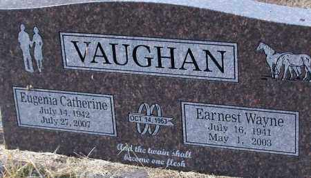 BEAVER VAUGHAN, EUGENIA CATHERINE - Logan County, Arkansas | EUGENIA CATHERINE BEAVER VAUGHAN - Arkansas Gravestone Photos