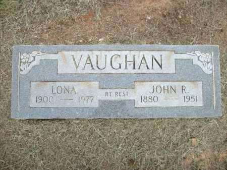 VAUGHAN, LONA - Logan County, Arkansas | LONA VAUGHAN - Arkansas Gravestone Photos
