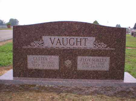 MIKLES VAUGHT, FLOY - Logan County, Arkansas | FLOY MIKLES VAUGHT - Arkansas Gravestone Photos