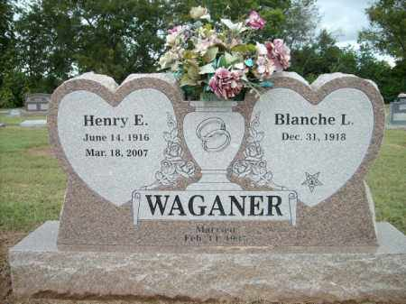 WAGANER, HENRY E. - Logan County, Arkansas | HENRY E. WAGANER - Arkansas Gravestone Photos