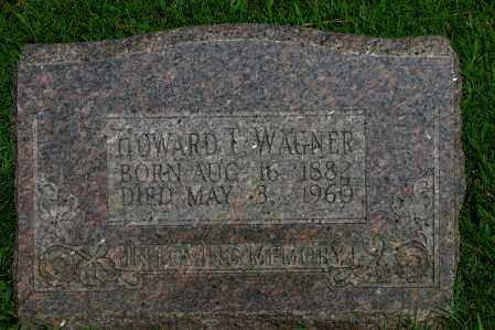 WAGNER, HOWARD T - Logan County, Arkansas | HOWARD T WAGNER - Arkansas Gravestone Photos