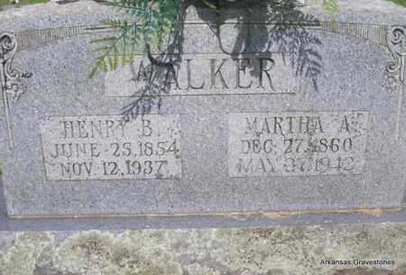 WALKER, HENRY B. - Logan County, Arkansas | HENRY B. WALKER - Arkansas Gravestone Photos