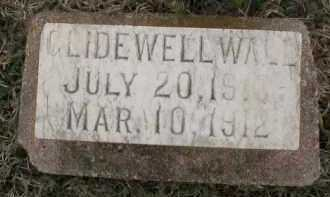 WALL, GLIDEWELL - Logan County, Arkansas | GLIDEWELL WALL - Arkansas Gravestone Photos
