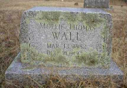 WALL, MOLLIE - Logan County, Arkansas | MOLLIE WALL - Arkansas Gravestone Photos