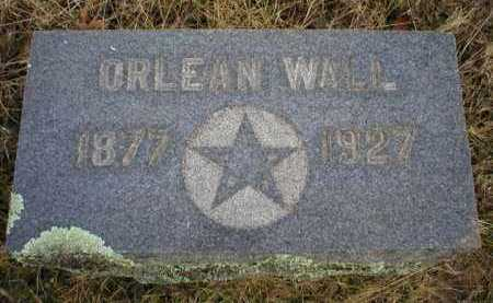 WALL, ORLEAN - Logan County, Arkansas | ORLEAN WALL - Arkansas Gravestone Photos