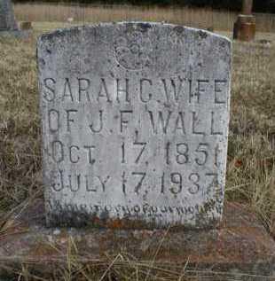 WALL, SARAH C - Logan County, Arkansas   SARAH C WALL - Arkansas Gravestone Photos