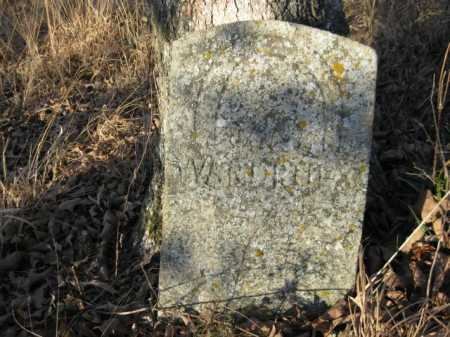 WARDRUP, JANE - Logan County, Arkansas   JANE WARDRUP - Arkansas Gravestone Photos
