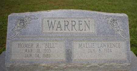 WARREN, HOMER R  BILL - Logan County, Arkansas | HOMER R  BILL WARREN - Arkansas Gravestone Photos