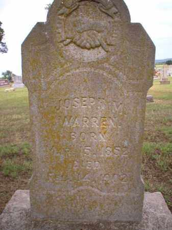 WARREN, JOSEPH M - Logan County, Arkansas | JOSEPH M WARREN - Arkansas Gravestone Photos