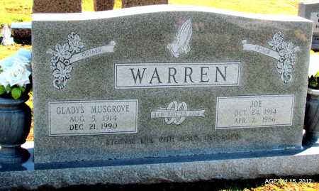 WARREN, GLADYS - Logan County, Arkansas | GLADYS WARREN - Arkansas Gravestone Photos