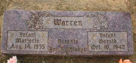 WARREN, MARJORIE - Logan County, Arkansas | MARJORIE WARREN - Arkansas Gravestone Photos