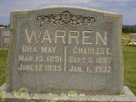 WARREN, ORA MAY - Logan County, Arkansas | ORA MAY WARREN - Arkansas Gravestone Photos