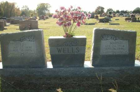 WELLS, MARY - Logan County, Arkansas | MARY WELLS - Arkansas Gravestone Photos