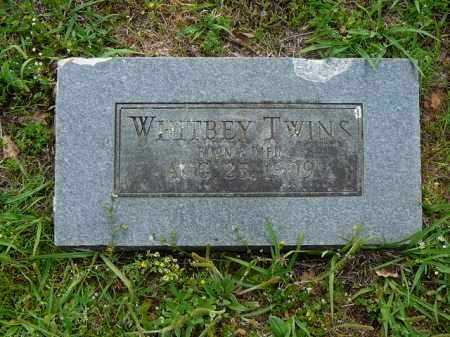 WHITBEY, TWINS - Logan County, Arkansas | TWINS WHITBEY - Arkansas Gravestone Photos