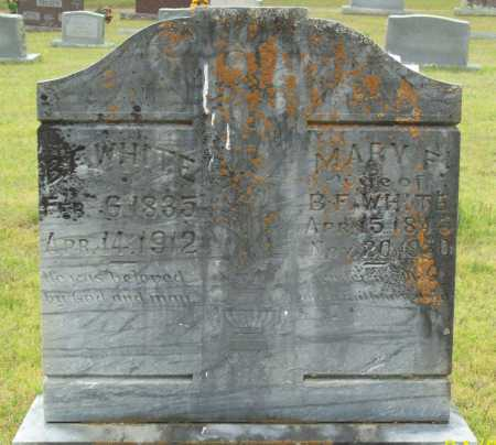 WHITE, MARY F. - Logan County, Arkansas | MARY F. WHITE - Arkansas Gravestone Photos