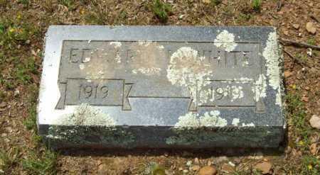 WHITE, EDWARD - Logan County, Arkansas   EDWARD WHITE - Arkansas Gravestone Photos