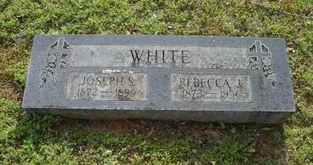 WHITE, JOSEPH S. - Logan County, Arkansas | JOSEPH S. WHITE - Arkansas Gravestone Photos