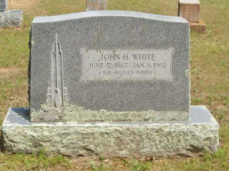 WHITE, JOHN H. - Logan County, Arkansas | JOHN H. WHITE - Arkansas Gravestone Photos