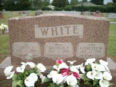 WHITE, EVERETTE W. - Logan County, Arkansas | EVERETTE W. WHITE - Arkansas Gravestone Photos