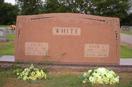 WHITE, ZELDA - Logan County, Arkansas | ZELDA WHITE - Arkansas Gravestone Photos