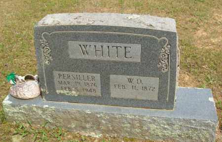 WHITE, PERSILLER - Logan County, Arkansas | PERSILLER WHITE - Arkansas Gravestone Photos