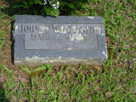 WHITECOTTON, JOHNNY - Logan County, Arkansas | JOHNNY WHITECOTTON - Arkansas Gravestone Photos