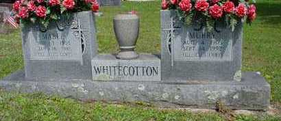 GARNER WHITECOTTON, MABEL LUCILLE - Logan County, Arkansas | MABEL LUCILLE GARNER WHITECOTTON - Arkansas Gravestone Photos