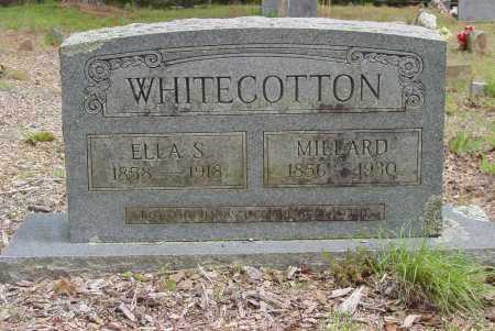 WHITECOTTON, MILLARD F - Logan County, Arkansas | MILLARD F WHITECOTTON - Arkansas Gravestone Photos