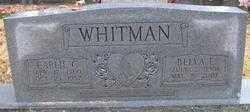 BARNARD WHITMAN, BELVA E. - Logan County, Arkansas | BELVA E. BARNARD WHITMAN - Arkansas Gravestone Photos