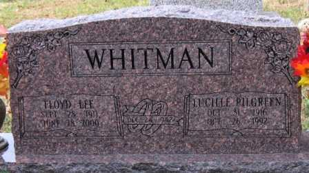 WHITMAN, LUCILLE - Logan County, Arkansas | LUCILLE WHITMAN - Arkansas Gravestone Photos