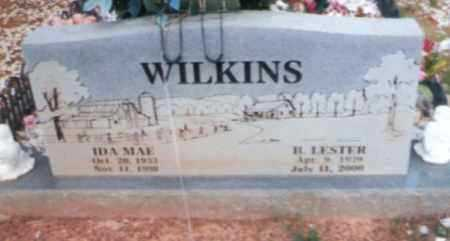 WILKINS, B. LESTER JAMES - Logan County, Arkansas | B. LESTER JAMES WILKINS - Arkansas Gravestone Photos