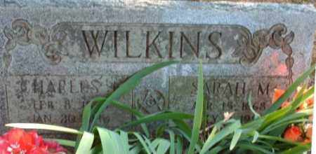 SNOW WILKINS, SARAH MATILDA - Logan County, Arkansas | SARAH MATILDA SNOW WILKINS - Arkansas Gravestone Photos