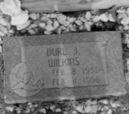 WILKINS, DURL - Logan County, Arkansas | DURL WILKINS - Arkansas Gravestone Photos