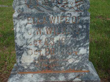 WILKINS, ELLA - Logan County, Arkansas | ELLA WILKINS - Arkansas Gravestone Photos