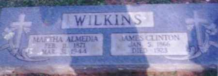 SCOTT WILKINS, MARTHA ALMEDIA - Logan County, Arkansas | MARTHA ALMEDIA SCOTT WILKINS - Arkansas Gravestone Photos