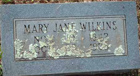 WILKINS, MARY JANE - Logan County, Arkansas | MARY JANE WILKINS - Arkansas Gravestone Photos